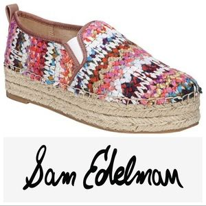 Sam Edelman Multicolored Yarn Carrin Espadrilles